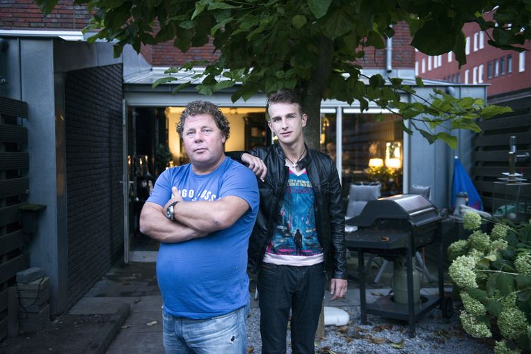 null Beeld Ronald Nijman met zijn zoon Rik. Hij is in een jarenlange juridische strijd verwikkeld met twee andere vermeende kinderen van de Oostenrijker Siegf...