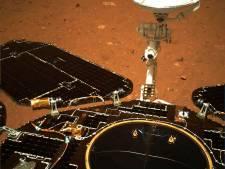 China deelt eerste door Marsverkenner gemaakte foto's van rode planeet