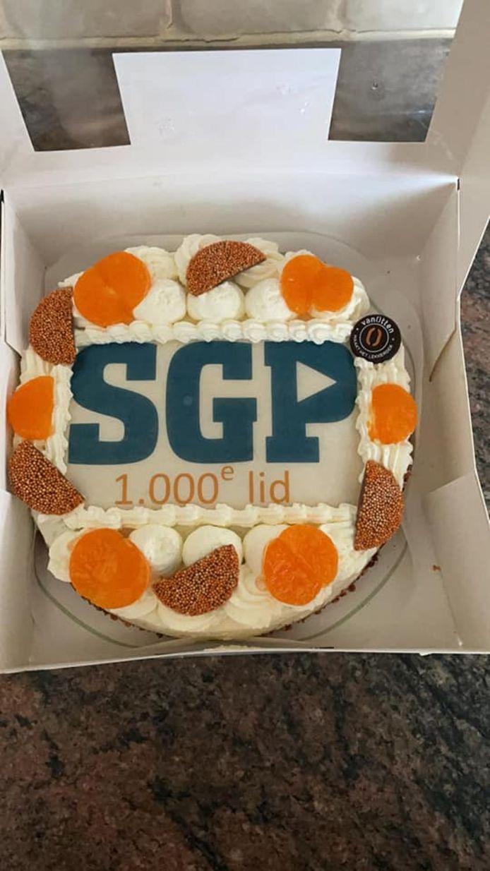 Reden voor een feestje bij de SGP Rijssen-Holten, want de afdeling heeft eindelijk meer dan duizend leden.