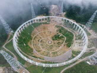 China luistervinkt naar buitenaards leven met grootste telescoop ter wereld