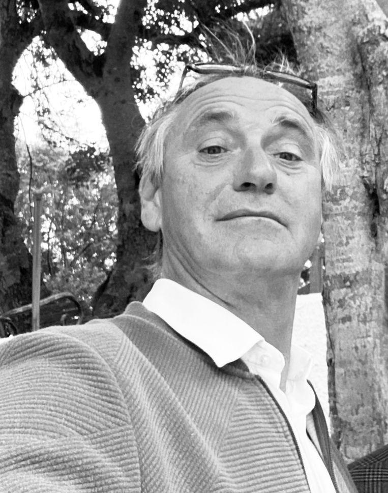 Erik de Vlieger, ondernemer met belangen in onder meer een groothandel in industriële naaimachines, mediabedrijven en vastgoed. Podcastmaker The GYGS. Beeld