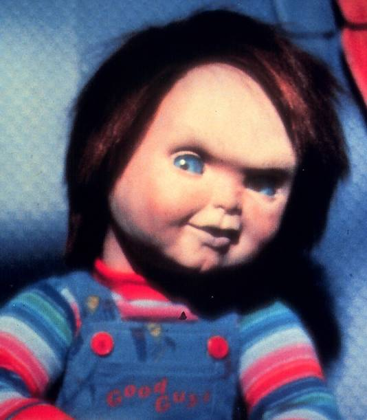 Chucky uit de bekende horrorfilms.