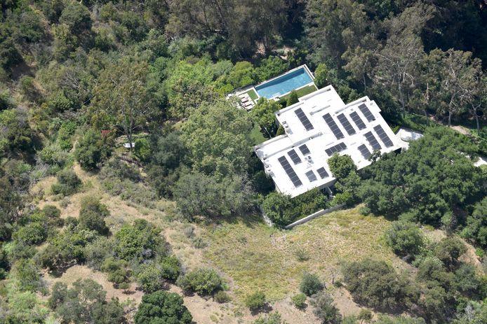 Katy Perry vit le plus en retrait de ses camarades, mais aussi dans la maison la plus chère: 19 millions de dollars