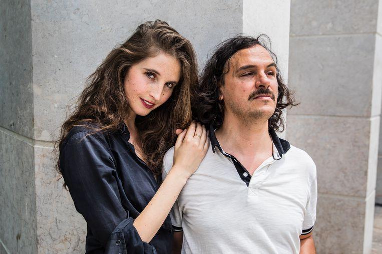 Lisaboa Houbrechts en Tcha Limberger. Beeld Aurélie Geurts