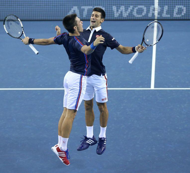 Novak stootte ook met zijn broertje Djordje door naar de volgende ronde.