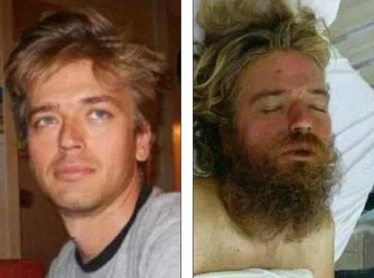 Anton Pilipa voor en na zijn avontuur
