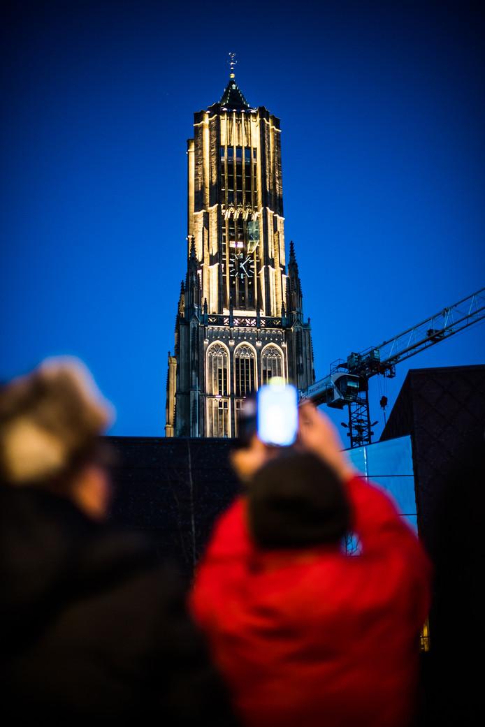 De uitgelichte Eusebiustoren was een dankbaar foto-object. Foto: Rolf Hensel.