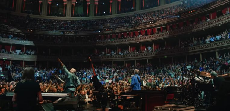 Royal Albert Hall Beeld YouTube