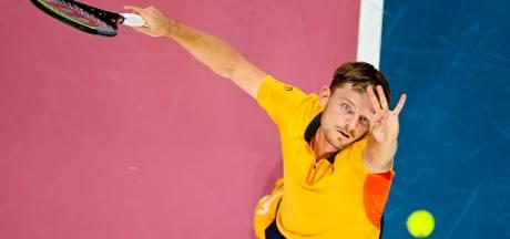 """David Goffin expéditif pour filer au 2e tour de Rotterdam: """"C'est bien d'enchaîner rapidement"""""""