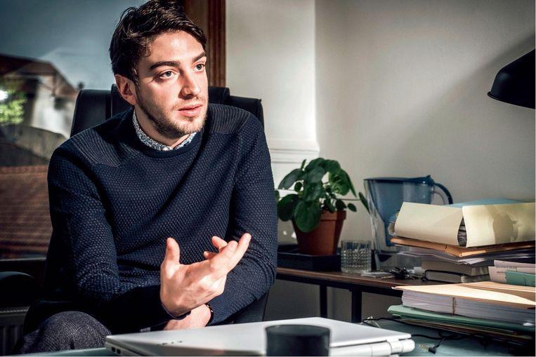 Guillaume Lys: 'Zijn advocaat heeft nooit ontkend dat Mehdi Nemmouche in Syrië is geweest. Hopelijk komen we te weten wat hij daar precies heeft gedaan.' Beeld Wouter Van Vaerenbergh
