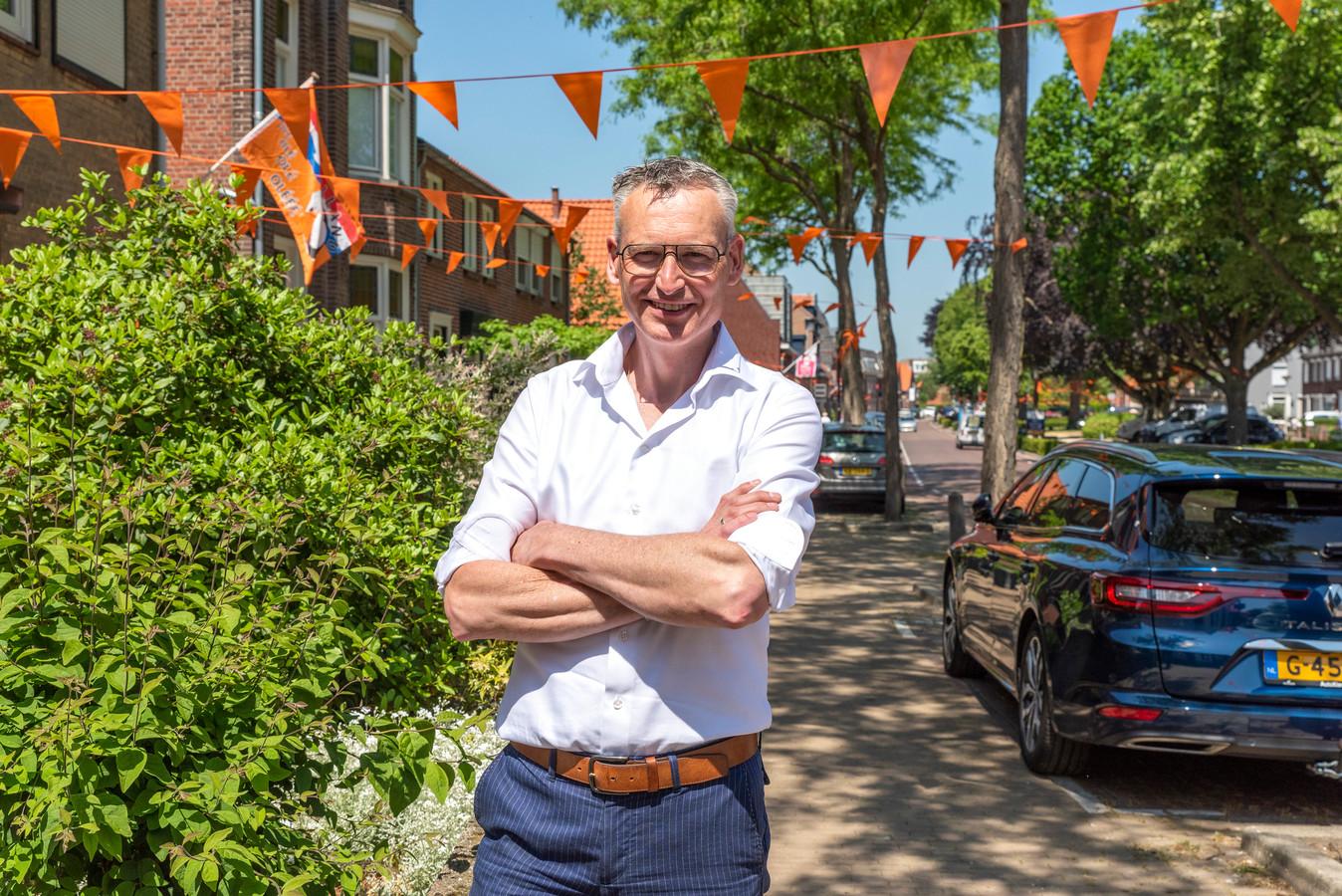 Halsteren, Moreno Molenaar/Pix4Profs  Gerrit Atres initiartiefnemer van de EK gekte van Halsteren