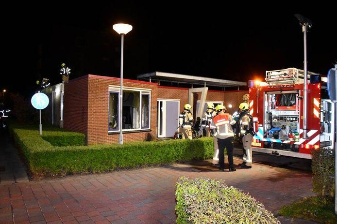 Bij de brand in Kapelle kwam de bewoner om het leven.