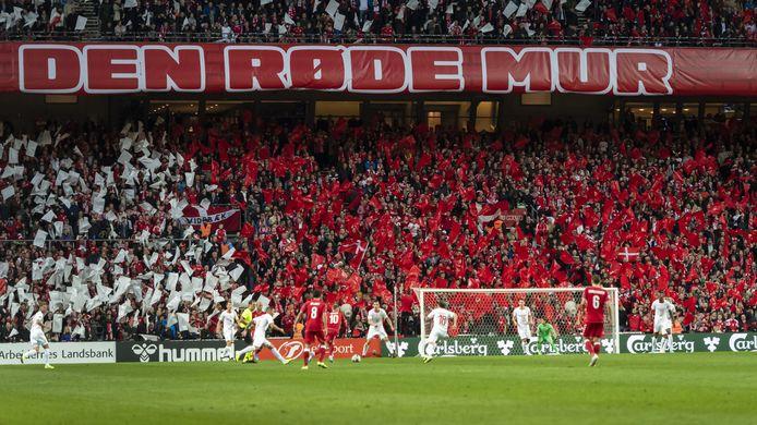 Een gevuld Parken-stadion in Kopenhagen. De Rode Duivels spelen er op 17 juni hun tweede groepsmatch.