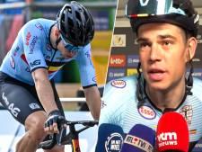 """Wout van Aert: """"L'équipe a tout donné mais je n'avais simplement pas les jambes"""""""
