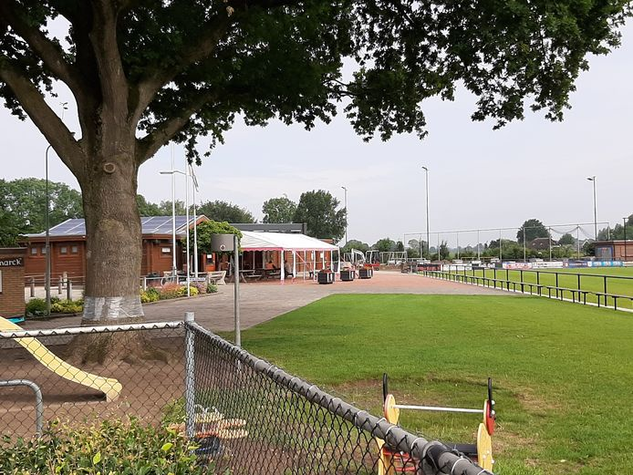 Sportpark De Woldermarck in Terwolde maakt zich op voor de komst van GA Eagles.