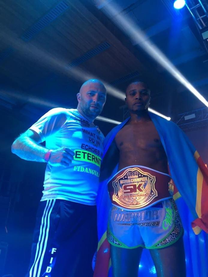 In oktober kroonde Ngimbi zich nog tot wereldkampioen.