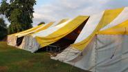 Onweer vernielt tent van Hutsepop: festival verhuist noodgewongen naar GC Den Dries