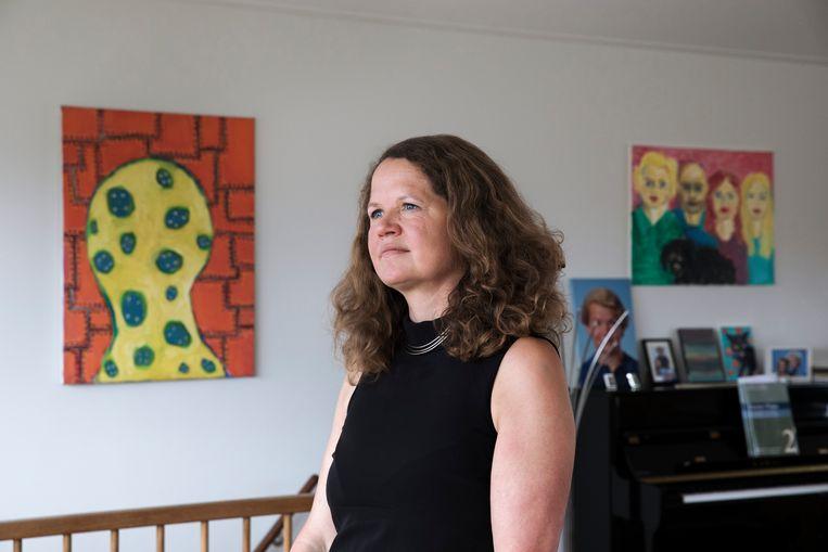 Sabine Roeser: 'Toen ik hier begon, vroegen mensen vaak: wat heeft ethiek nou met techniek te maken? Dat hoef je nu aan niemand meer uit te leggen.' Beeld Inge van Mill