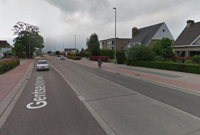 Gentsesteenweg Aalst.