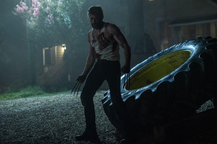 Hugh Jackman schittert nog een laatste keer als Logan.  Beeld rv Photo Credit: Ben Rothstein