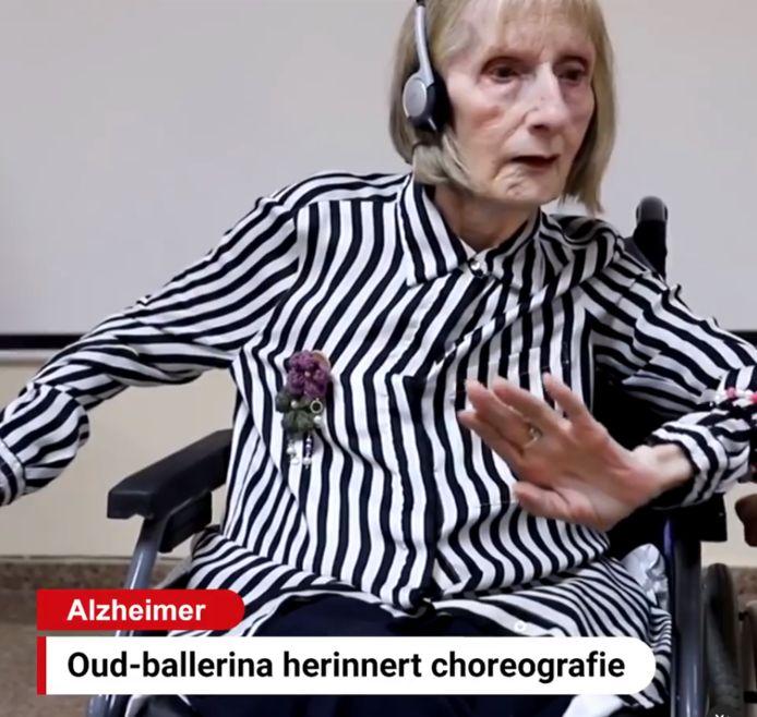 Voormalig prima ballerina Marta González lijdt aan alzheimer, maar kon zich door de muziek van Het Zwanenmeer de choreografie weer herinneren . De beelden gaan nu viral op sociale media.