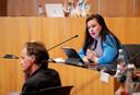 Annabel Nanninga fractievoorzitter van Forum voor Democratie (FvD) in de gemeenteraad van Amsterdam.