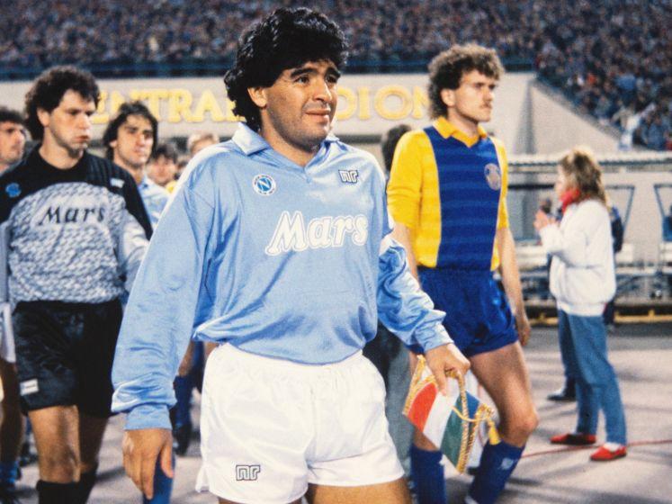 Diego Maradona op 60-jarige leeftijd overleden