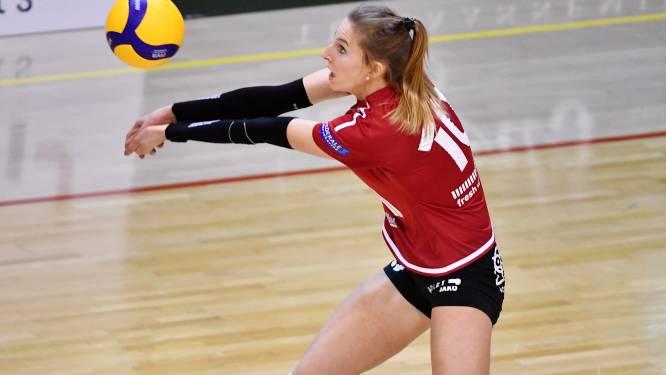 """Sarah Cools (Antwerp Volley Team) loopt een open beenbreuk op en is maandenlang uitgeschakeld: """"Verschrikkelijk"""""""