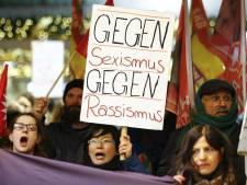 Honderden vrouwen demonstreren tegen wantoestanden Keulen