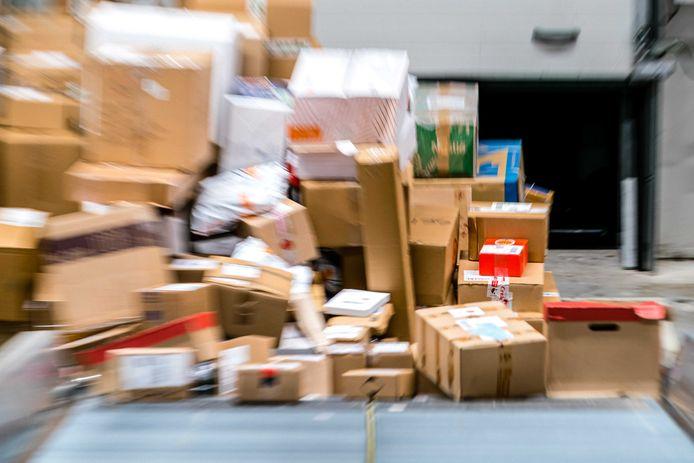 Bij koeriersdiensten die bezorging van pakketten verzorgen is de situatie vaak niet op orde. Foto is alleen ter illustratie.