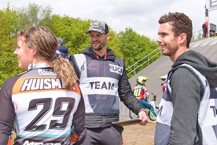 Ruby Huisman, Raymon van der Biezen en Rob van den Wildenberg op Papendal.