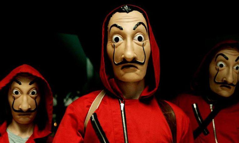 'La Casa De Papel' Beeld Netflix