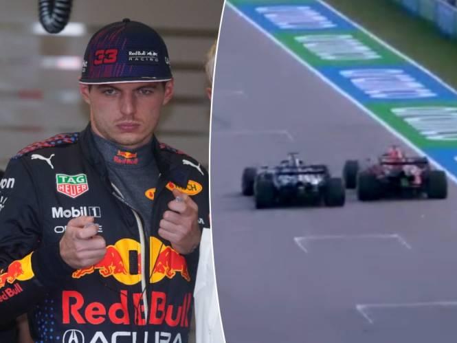 """Domme idioot"": nú al clash tussen Verstappen en Hamilton na bijna-botsing tijdens oefensessie"