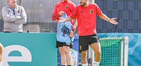 Eden Hazard et Kevin De Bruyne toujours absents à l'entraînement, mais présents dans le groupe contre l'Italie?
