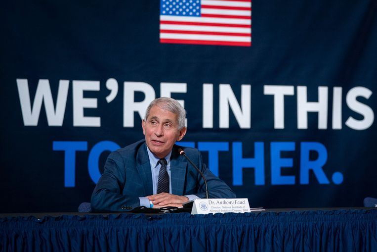 Dokter Anthony Fauci. Beeld Photo News