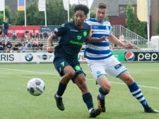 IJsselmeervogels 'overenthousiast' in oefenduel met De Graafschap: 'Het leek wel een Champions League-finale'