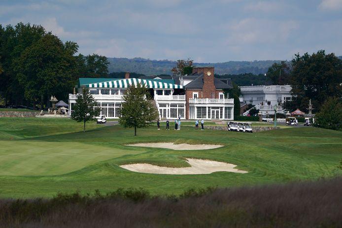 Le Trump National Golf Club à Bedminster dans le New Jersey.