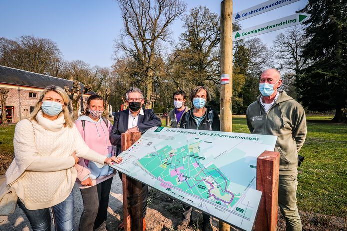 Volg vijf nieuwe wandelingen in Beisbroek en Tudor.