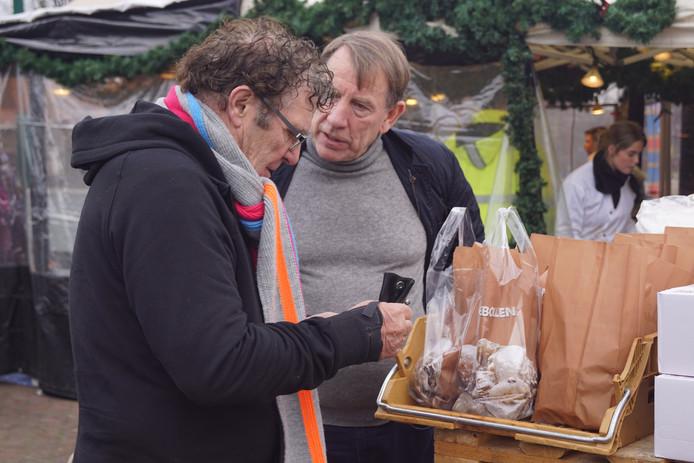 Van Hanegem (links) en De Graaf.