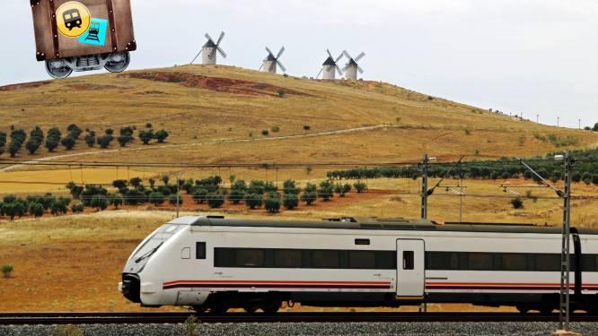 De Torre del Oro-treinreis brengt je langs olijfbomen, molens en wereldsteden