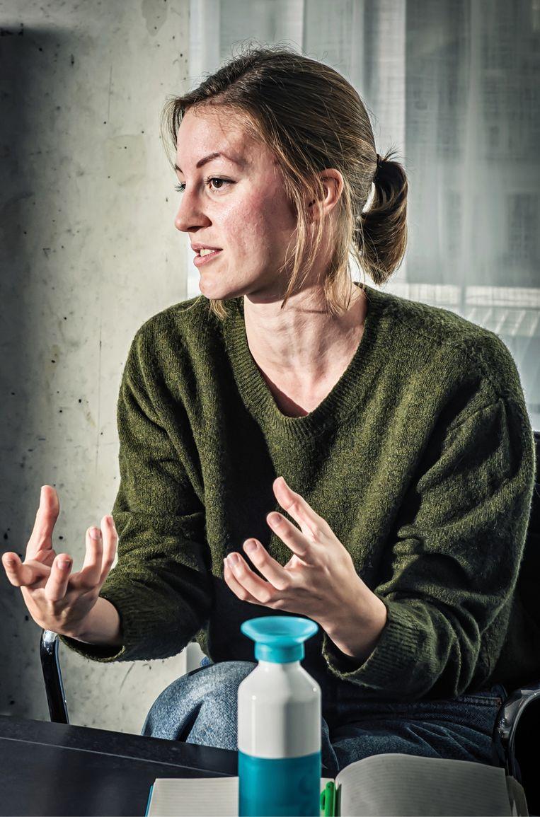 Britt Buseyne.  Beeld Geert Van de Velde