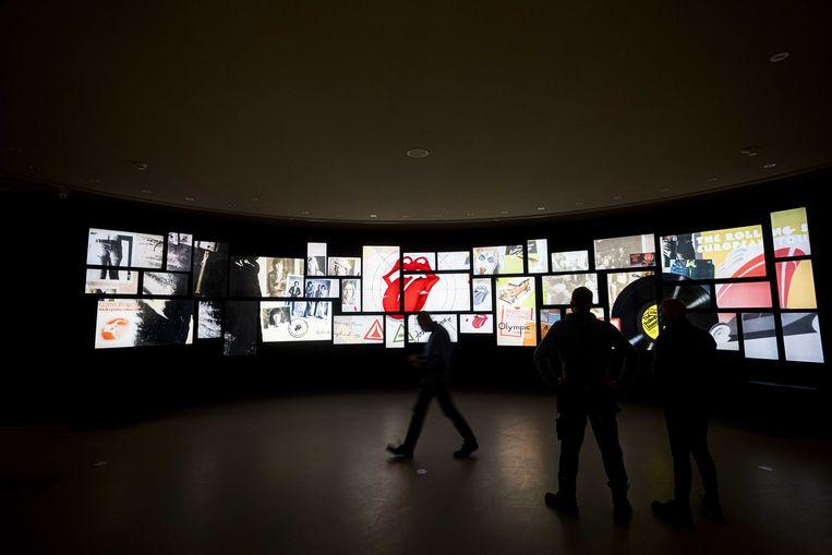 'The Rolling Stones - Unzipped' tentoonstelling in het Groninger Museum Beeld ANP