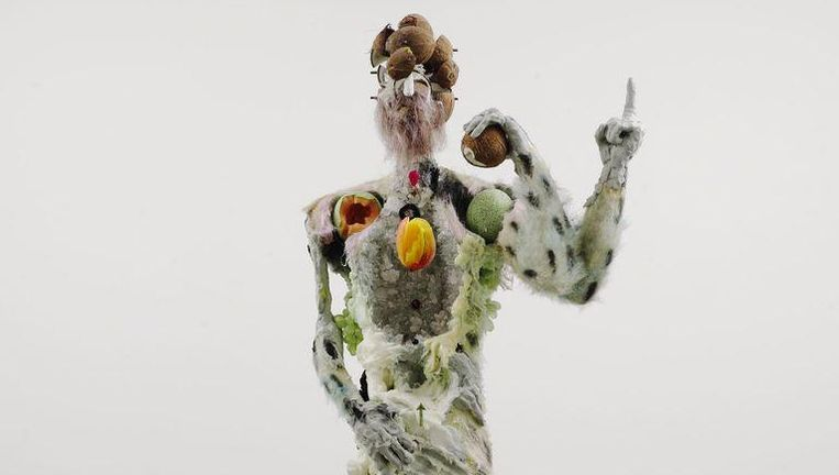 Figure with Cantaloupe Shoulders, 2013. Beeld Xavier Hufkens, Brussels