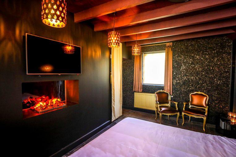 De kamers ogen romantisch.