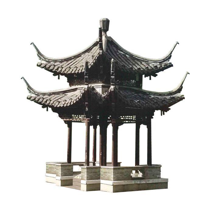 Het ontwerp van het Chinese paviljoen dat Breda cadeau krijgt van zusterstad Yangzhou.