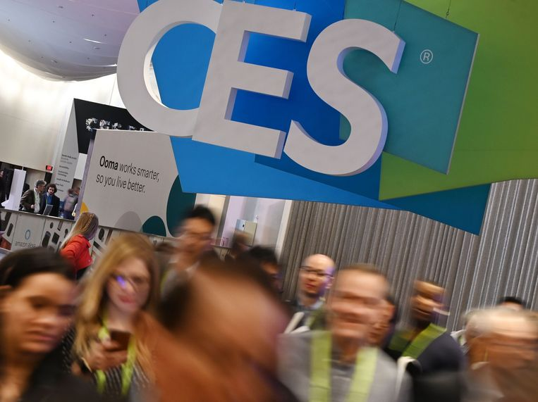 Consumer Electronics Show, January 10, 2019 in Las Vegas, Nevada. Beeld AFP
