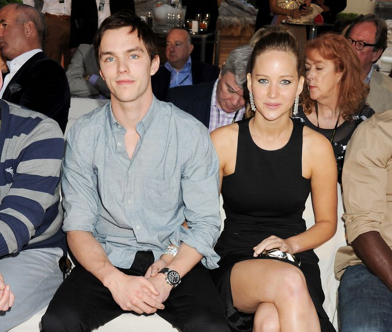 Acteurs Nicholas Hoult en Jennifer Lawrence