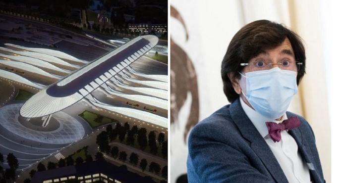 Le concours pour le projet de la gare de Mons avait été remporté par l'architecte et ingénieur espagnol Santiago Calatrava. Elio Di Rupo (PS) était le président du jury.