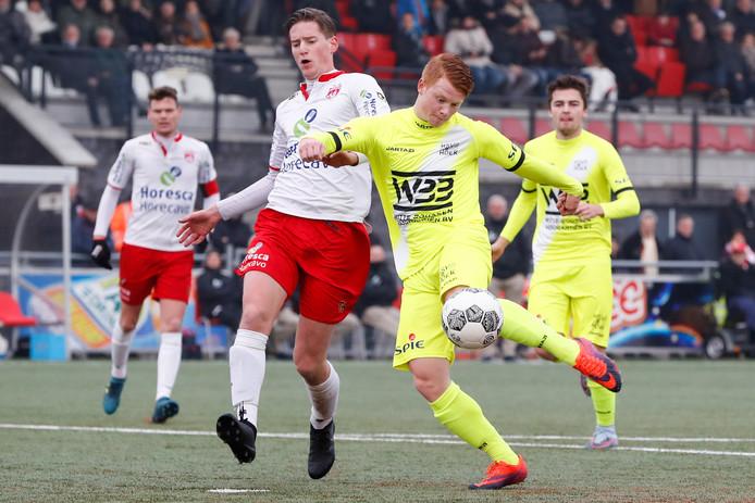 Douwe Zeegers maakte de belangrijke 0-2.