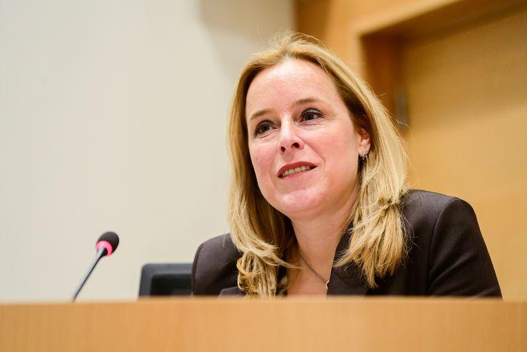Staatssecretaris van Begroting Eva De Bleeker (Open Vld). Beeld BELGA